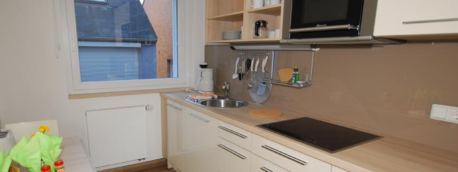 Die Küche in Appartement 3